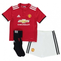 adidas Manchester United Home Mini Kit 2017 2018 Bebe