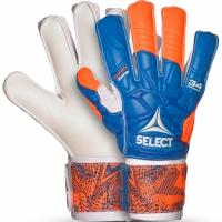 Manusi de Portar Select 34 Protection Flat Cut 2019 albastru portocaliu alb