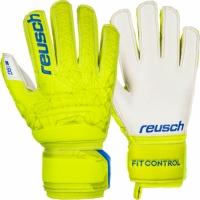 Manusi Portar Reusch Fit Control SG Finger Support galben 3972810 588 pentru copii