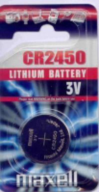 Maxell Battery Ref Cr2450
