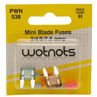 Mega Value Pearl Mini Blade Fuses