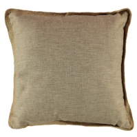 Linens and Lace Jute Piping Cushion