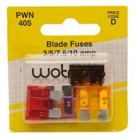 Mega Value Wotnots Blade Fuses
