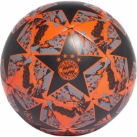 Minge fotbal Adidas Finale FC Bayern Capitano negru-portocaliu-gri DY2543