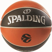 Mingi de Baschet Spalding NBA Euroleague IN OUT portocaliu-negru gazon sintetic-500 84-002Z