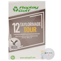 Minge Golf Replay Golf TaylorMade Tour 12 Pack