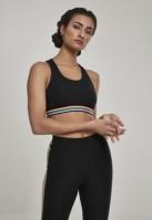 Multicolor Taped Bra pentru Femei negru Urban Classics