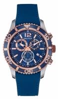 Nautica Watches Mod Nst 09 - Sea - Water Fun Nai16502g - Br Pol Slv Case - bleumarin Top Ring