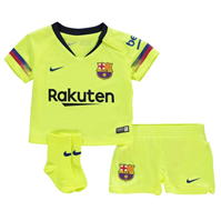 Nike Barcelona Away Kit 2018 2019 Bebe