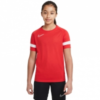 Nike Dri-FIT Academy Jersey rosu CW6103 658 pentru Copii