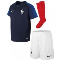Nike France Home Mini Kit 2018