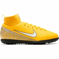 Ghete de fotbal Nike Mercurial Superfly X 6 Club Neymar gazon sintetic AO2894 710 copii