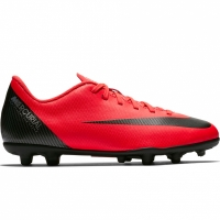 Adidasi fotbal Nike Mercurial Vapor 12 Club GS CR7 FG / MG AJ3095 600 copii