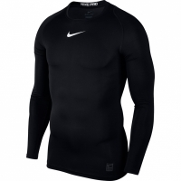 Nike Pro Top compresie maneca lunga Jersey negru 838077 010 pentru barbati
