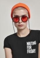 Ochelari de soare 104 Chain negru-portocaliu Urban Classics