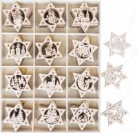Brad Din Lemn Star Droves 7 Cm