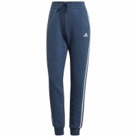 Pantaloni Adidas Essentials Slim conici cu mansete albastru GM5597