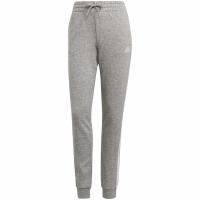 Pantaloni Adidas Essentials Slim conici cu mansete gri GM8735 pentru femei