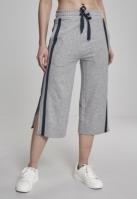 Taped Terry Culotte pentru Femei gri-bleumarin Urban Classics