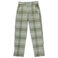 Pantaloni Slazenger Checked Golf de baieti Junior