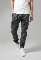 Pantaloni Camo Cargo Jogging gri-camuflaj Urban Classics