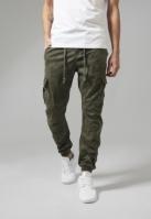 Pantaloni Camo Cargo Jogging oliv-camuflaj Urban Classics