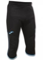Pantaloni Joma Pirate Protection Portar negru-turcoaz