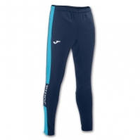 Pantaloni lungi Joma Championship Iv bleumarin-turcoaz Fluor