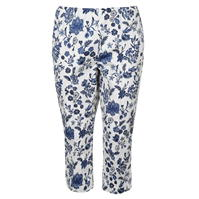 Pantaloni Miso Print Cropped pentru Femei