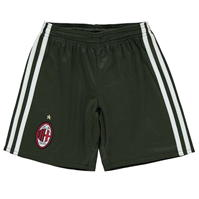 Pantaloni scurti adidas AC Milan Third 2016 2017 de baieti Junior