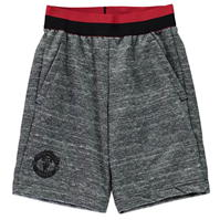 Pantaloni scurti adidas Manchester United FC Knitted de baieti Junior