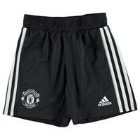 Pantaloni scurti adidas MUFC Football de baieti Junior
