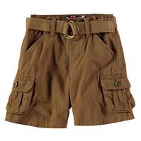 Pantaloni scurti Lee Cooper Belted Cargo de baieti Bebe
