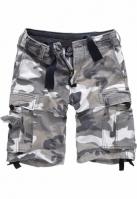 Pantaloni scurti cargo Vintage camuflaj deschis Brandit