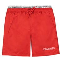 Pantaloni scurti Calvin Klein Calvin Double Band Swim