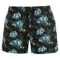 Pantaloni scurti Fabric Floral Swim pentru Barbati