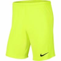 Pantaloni scurti Nike Dry Park III NB K Lime BV6865 702