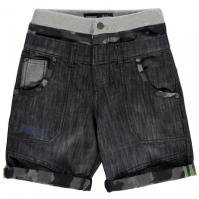 Pantaloni scurti No Fear Double Waisted de baieti Junior