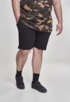 Pantaloni scurti Terry negru Urban Classics