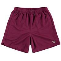 Pantaloni scurti Wilson 7 Knit de baieti Junior
