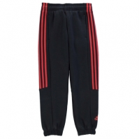 Pantaloni adidas 3 Stripe Sweat de baieti Junior