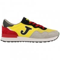 Pantofi sport casual barbati C367 Joma 809 galben-negru-gri