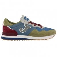 Pantofi sport casual barbati C367 Joma 816 albastru-kakhi