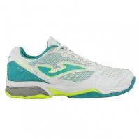 Pantofi tenis Tace Joma 702 alb toate suprafetele pentru Femei