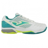 Pantofi tenis Tace Joma 702 alb zgura pentru Femei