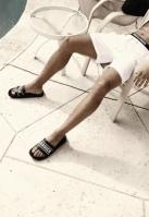 UC Slides negru Urban Classics