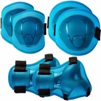 Patine cu rotile Protective Gear pentru Spokey Buffer albastru 927482-927483