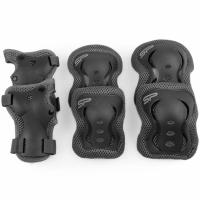 Patine cu rotile Protective Gear pentru Spokey Shield gri 922152-922154
