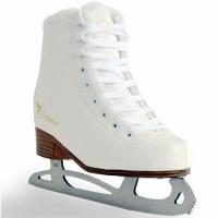 Patine pe gheata SMJ Exclusive Skates alb copii