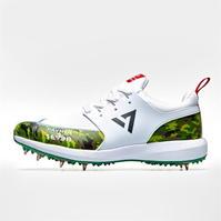 Payntr by Seven MS Dhoni Camo Cricket Shoes pentru Barbati